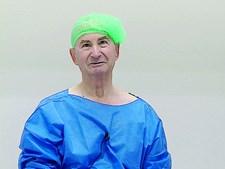 José Cantarinha, doente operado