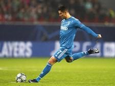 Cristiano Ronaldo pela 14.ª vez consecutiva nos 'oitavos' da Liga dos Campeões