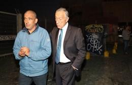 Manuel, o sem-abrigo que salvou o bebé no caixote do lixo e o Presidente da República, Marcelo Rebelo de Sousa