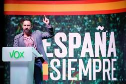 Santiago Abascal, líder do Vox