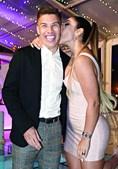 Cindy Álvarez García festejou os seus 30 anos com o marido, Uribe