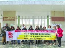 Na Escola Básica Vasco da Gama, em Lisboa, existem apenas 13 auxiliares para um total de 600 alunos