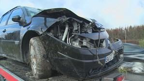 Seis feridos após colisão entre dois carros em Viseu