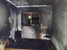 Fogo deflagrou no quarto da casa