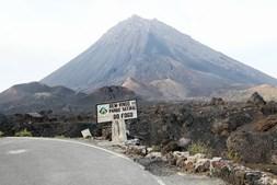 Vulcão da ilha cabo-verdiana do Fogo