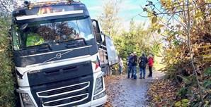 Camionista português tem camião atolado em Itália há seis dias
