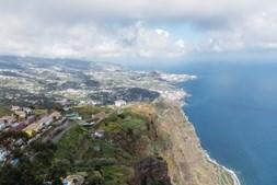 Ilha da Madeira. Vista do Miradouro Cabo Girão
