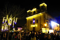 As luzes também já foram acesas em Oeiras