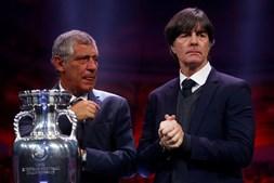Fernando Santos e Joachim Loew