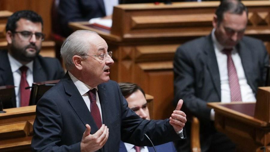 Rui Rio no Parlamento