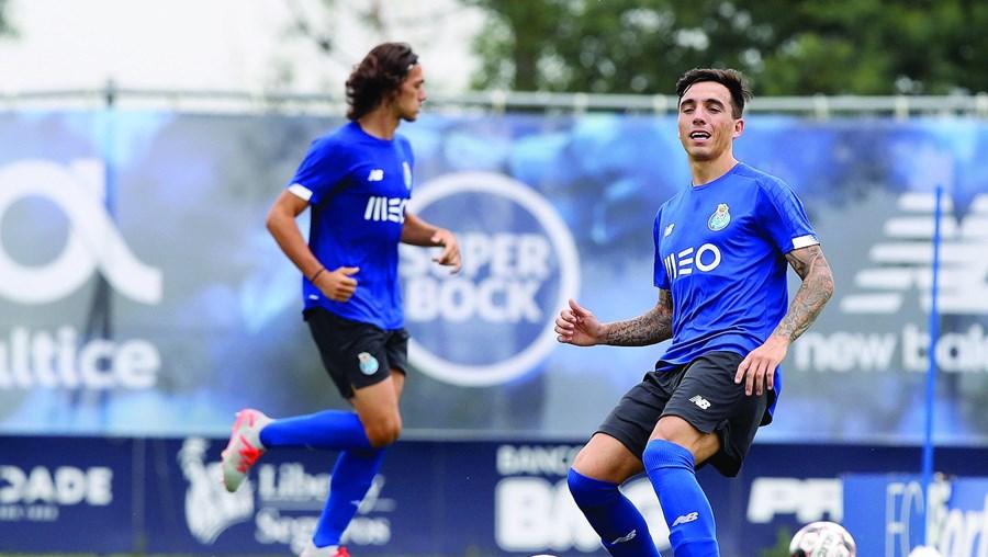 Saravia tem tido poucas oportunidades de jogar. Chegou ao FC Porto no último mercado de verão