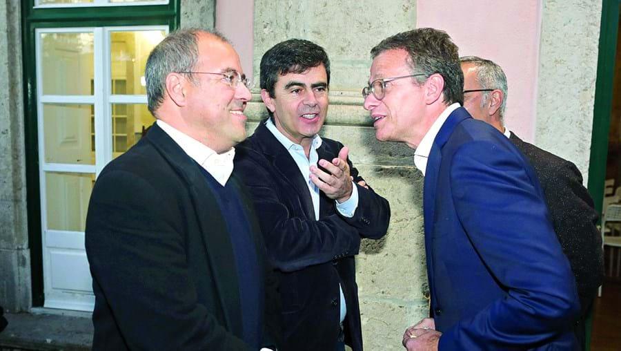 Nuno Artur Silva e Gonçalo Reis, presidente da RTP, voltaram a encontrar-se depois de o primeiro ter sido afastado da RTP