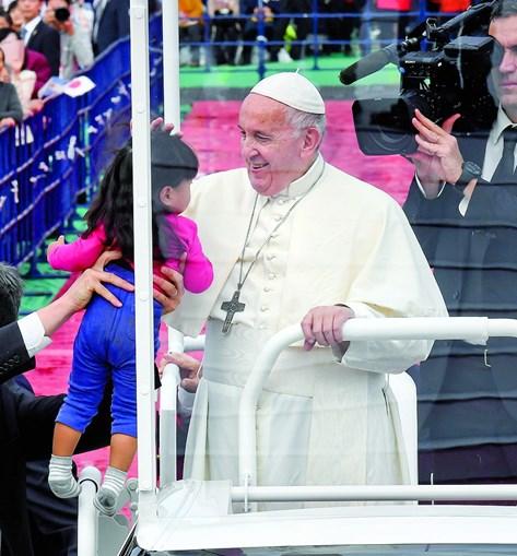 Papa Francisco faz visita de quatro dias ao Japão