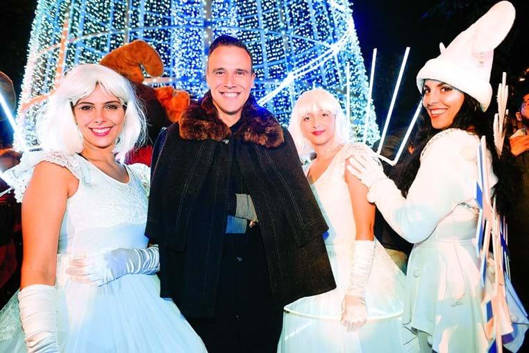 Nelson Rosado na inauguração do Setúbal Christmas Fest