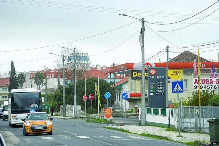 Posto de abastecimento de combustíveis assaltado pelo ladrão na EN8