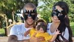 Luna, a bebé que nasceu com uma marca na cara que faz lembrar o Batman