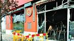Chamas arrasam restaurante em avenida de Lisboa