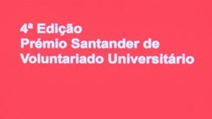 Quarta edição do Prémio de Voluntariado Universitário Santander Universidades distingue projetos solidários