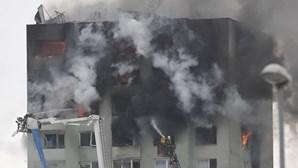 Explosão de gás em prédio na Eslováquia causa cinco mortos e 40 feridos