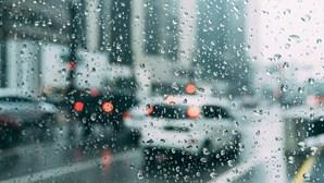 Chuva fraca marca esta quarta-feira