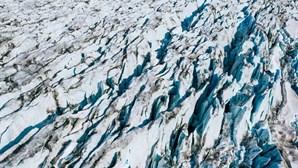 Parte da calota polar da Gronelândia rompeu-se no nordeste do Ártico
