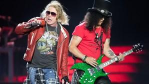 Já há nova data para o concerto dos Guns N' Roses em Portugal