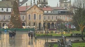 Espírito natalício invade cidade de Braga