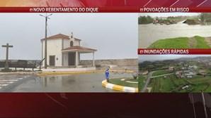 """""""É desolador"""": Ondas de 10 metros inundam casas em Espinho"""