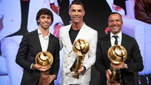 """""""Espero voltar no próximo ano"""": Cristiano Ronaldo considerado jogador do ano"""