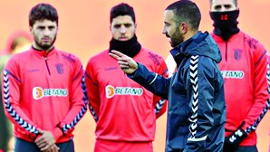 Rúben Amorim testa defesa no SC Braga