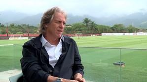 Treinador do Flamengo, Jorge Jesus