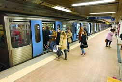 Metro de Lisboa é o que transporta mais passageiros no país