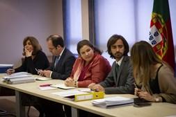 Alexandra Leitão, ministra da Modernização do Estado e da Administração Pública, e José Couto, secretário de Estado do setor, reuniram ontem com os sindicatos da Administração Pública