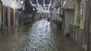 Depressão Elsa inunda ruas de Águeda