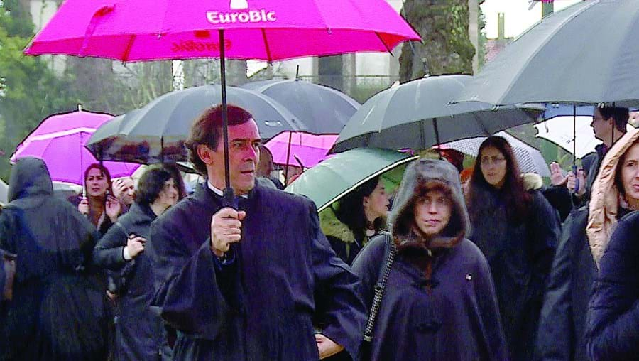 Advogados manifestaram-se nas cidades do Porto (na foto) e Lisboa