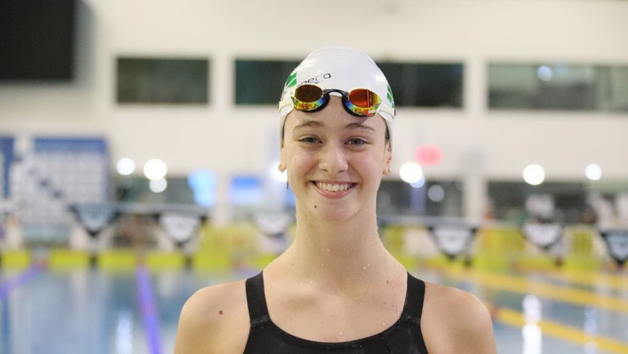 Nadadora Rafaela Azevedo