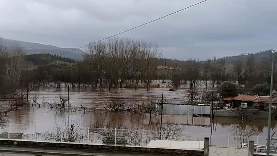 Vídeo mostra rio Tua a inundar campos agrícolas