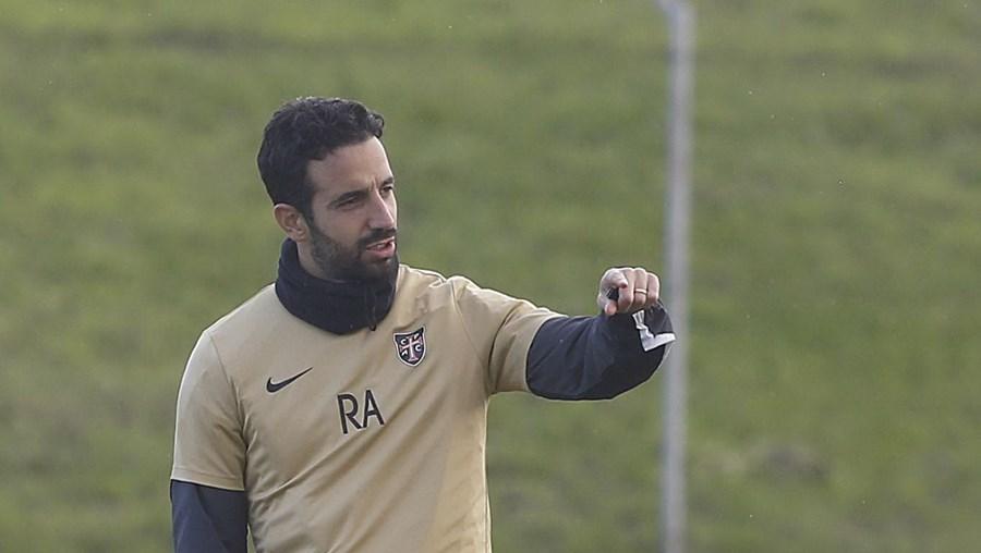 Rúben Amorim quando treinava o Casa Pia Atlético Clube