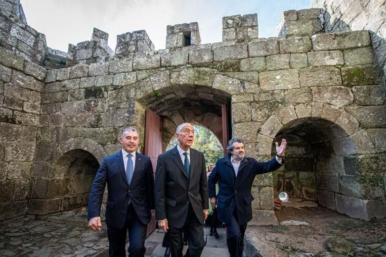 'Se não valorizarmos o património, ninguém o valorizará por nós': Presidente da República apela à preservação cultural