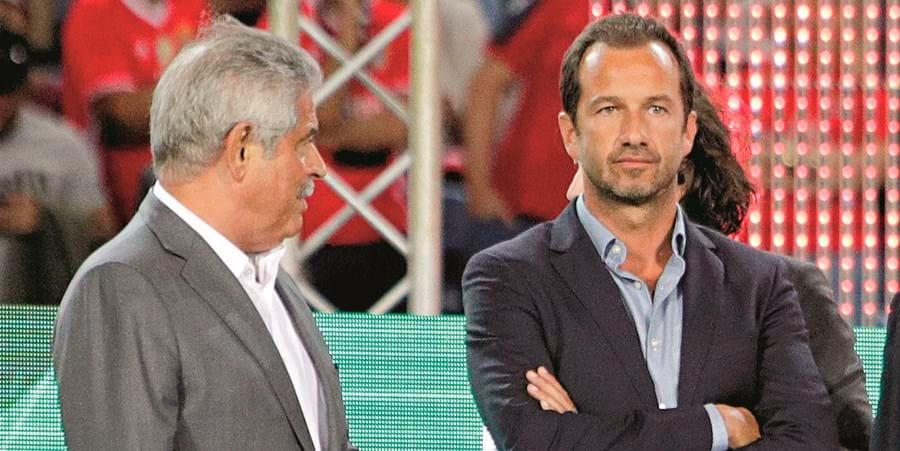 Luís Filipe Vieira foi alvo de críticas por parte do Sporting, cujo presidente é Frederico Varandas