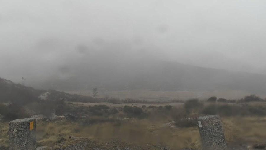 Estradas de acesso à Torre na Serra da Estrela cortadas