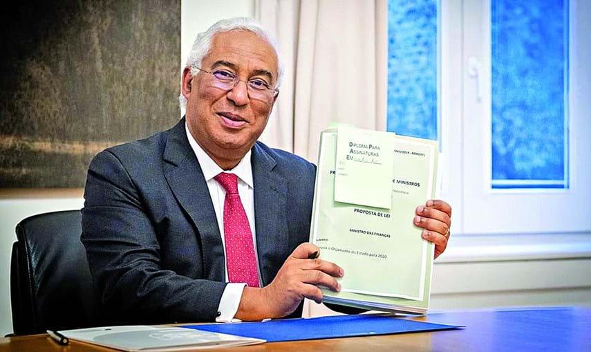 António Costa assinou o Orçamento de Estado