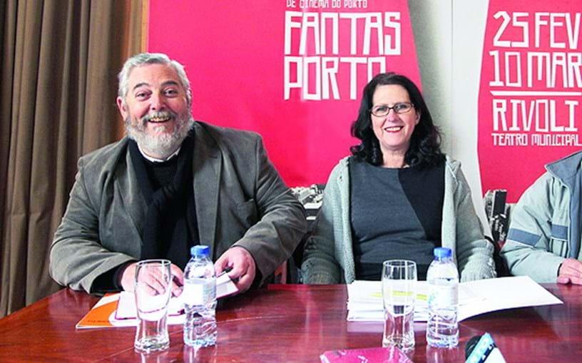 Mário Dorminsky e Beatriz Pacheco, do Fantasporto