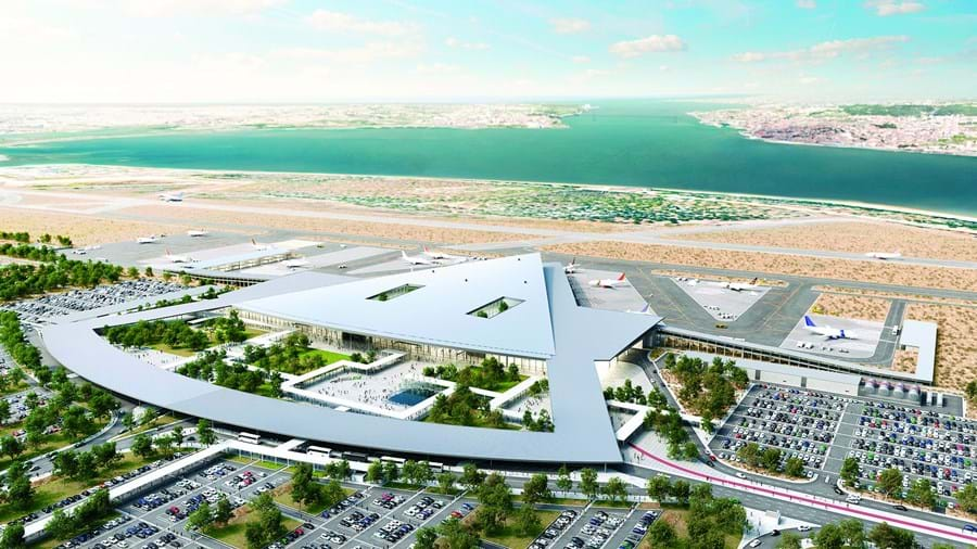 Projeto pretende um aeroporto no Montijo, como complemento ao de Lisboa