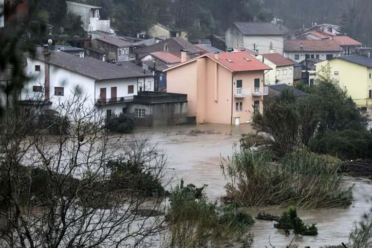 Mau tempo em Coimbra