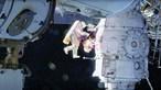 Astronauta tratado a uma trombose a partir da Terra