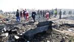Avião ucraniano com 176 pessoas a bordo cai em Teerão. Não há sobreviventes