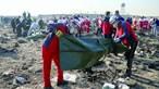 Queda de avião no Irão mata 176 em plena crise