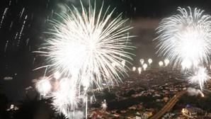 Cor e fogo-de-artifício apoteótico: a entrada da Madeira em 2020