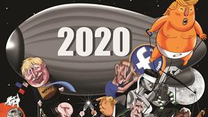 Ano de agitação social, de incerteza e de expectativas